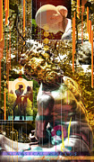 Montage Mixed Media - The Centaur Classical Worlds by Garth Glazier
