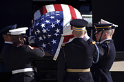 Casket Photos - The Ceremonial Honor Guard Places by Stocktrek Images