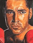 Boxing  Originals - The Champ - Oscar De La Hoya by Kenneth Kelsoe