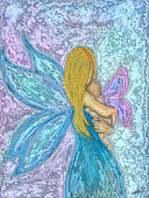 Magic Pastels Prints - The Changeling Print by Diana Haronis