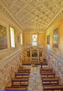 Norfolk; Prints - The Chapel at Holkham Hall Print by Chris Thaxter