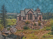 Catherine Digital Art Prints - The Chapel Print by Ernie Echols