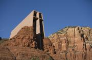 Southwestern States Photos - The Chapel Of The Holy Cross Church by John Burcham