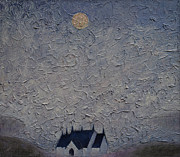 Lonely Paintings - The Chapel on the Loch by Andy  Mercer