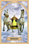 Astrological Posters - The Chariot Poster by John Edwards