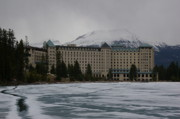 Chateau Originals - The Chateau at Lake Louise by Cynthia  Cox Cottam