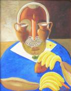 George Washington Carver Paintings - The Chemurgist by David G Wilson