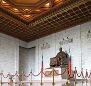 Memorial Hall Posters - The Chiang Kai-Shek Memorial Poster by Yali Shi