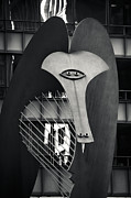 Wall Sculpture Posters - The Chicago Picasso Poster by Adam Romanowicz