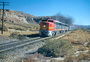 Diesel Locomotives Prints - The Chief Train Print by Photo Researchers, Inc.