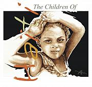 Caribbean Island Prints - The children of Haiti Collection Print by Bob Salo