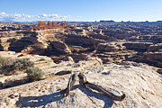 Sandstone Canyons Photos - The Chocolate Drops by Scott Hansen