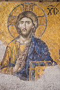 Byzantine Prints - The Christ Print by MaryJane Armstrong