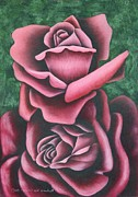 Harmony Pastels Prints - The Chritmas Rose Print by Richard Van Order
