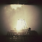 Surrealism Art - The Chrysler Building - New York City by Vivienne Gucwa