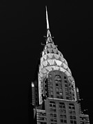 Iconic Metal Prints - The Chrysler Building Metal Print by Vivienne Gucwa