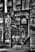 Cigar Metal Prints - The Cigar Store Metal Print by David Patterson