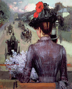 Nineteenth Century Paintings - The City Atlas by Sidney Starr