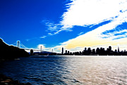 San Francisco Skyline Prints - The City By The Bay Print by Wingsdomain Art and Photography