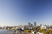 Home Ownership Prints - The City Of London Skyline In 2011 Print by Pawel Toczynski