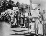 The Civil Rights Movement Began Print by Everett