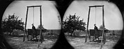 War Dead Framed Prints - The Civil War, Stereoview Of An Framed Print by Everett