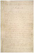 Slavery Prints - The Civil War. The Manuscript Print by Everett