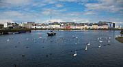 Republic Of Ireland Acrylic Prints - The Claddagh Galway Acrylic Print by Gabriela Insuratelu