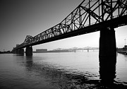 Landscape Framed Prints Framed Prints - The Clark Memorial Bridge II Framed Print by Steven Ainsworth