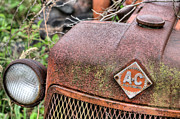 Tractor Photos - The Classic Allis by JC Findley