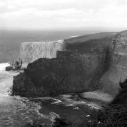 Mike Mcglothlen Prints - The Cliffs of Mohar II - Ireland Print by Mike McGlothlen