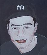 New York Yankees Mixed Media - The Clipper by Pharris Art