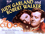 Films By Vincente Minnelli Framed Prints - The Clock, Judy Garland, Robert Walker Framed Print by Everett