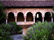Cloisters Museum Prints - The Cloister Print by Cornelis Verwaal