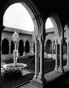 Cloisters Museum Prints - The Cloisters, New York, Circa 1950s Print by Everett