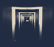 Hallway Photos - The Closed Doors by Jerry Cordeiro