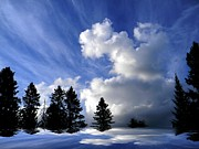 The Cloud  Print by Elfriede Fulda