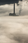 Peak District Framed Prints - The Cloud Factory Framed Print by Andy Astbury