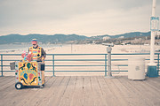 Beach Photograph Posters - The Clown Poster by Nastasia Cook