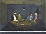 Atheist Paintings - The Club of Night by Doyle Phillips