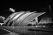 Exhibition Hall Posters - The Clyde Auditorium at the scottish exhibition and conference centre secc Glasgow Scotland UK Poster by Joe Fox