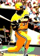 Pittsburgh Pirates Digital Art Prints - The Cobra Print by Spencer McKain