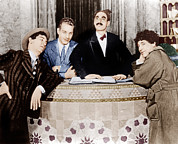 Groucho Marx Art - The Cocoanuts, From Left Chico Marx by Everett