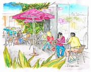 Landmarks Originals - The-Coffee-Bean-Farmers-Market by Carlos G Groppa
