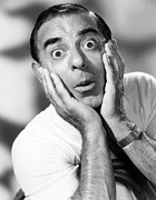 1950s Portraits Framed Prints - The Colgate Comedy Hour, Eddie Cantor Framed Print by Everett