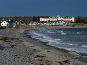 Kennebunkport Art - The Colony Hotel by Deborah Drinon-Haggerty