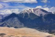 Colorado Sand Dunes Posters - The Colorado Great Sand Dunes  125 Poster by James Bo Insogna