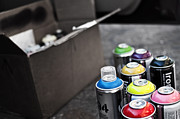 Spray Paint Cans Photos - The Colors by Brooklyn Born