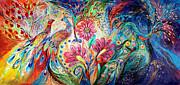 The Colors Of Day Print by Elena Kotliarker