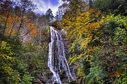 North Carolina Art - The Colors of Mingo Falls by Lynn Bauer
